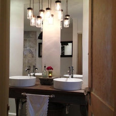 Eclectic Bathroom by Guest House Interiors