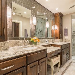 Light Colored Granite Countertop Bathroom Ideas Houzz