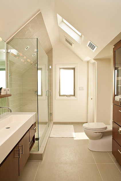 Modern Bathroom by Renewal D