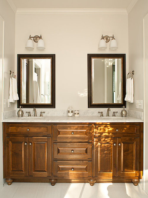 Light above mirror houzz - Bathroom vanity mirror side lights ...