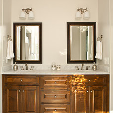 rustic bathroom by Renewal Design-Build