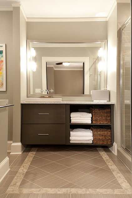 Contemporary Bathroom by Renewal Design-Build