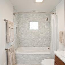 Contemporary Bathroom by Renewal Design-Build