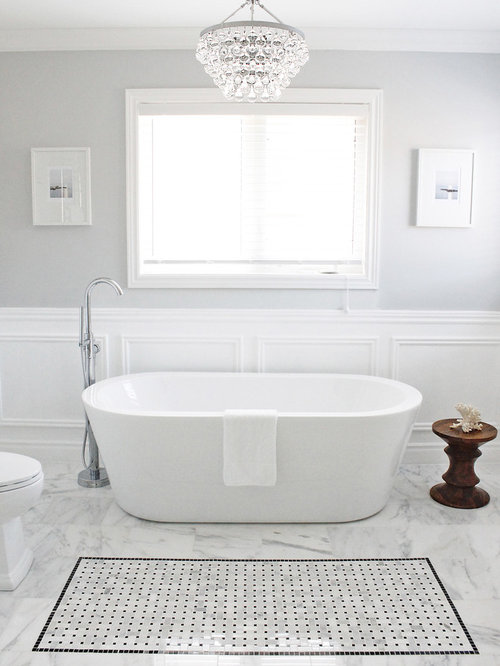Completely new Chandelier Above Tub | Houzz EB23