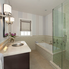 modern bathroom by Faiella Design