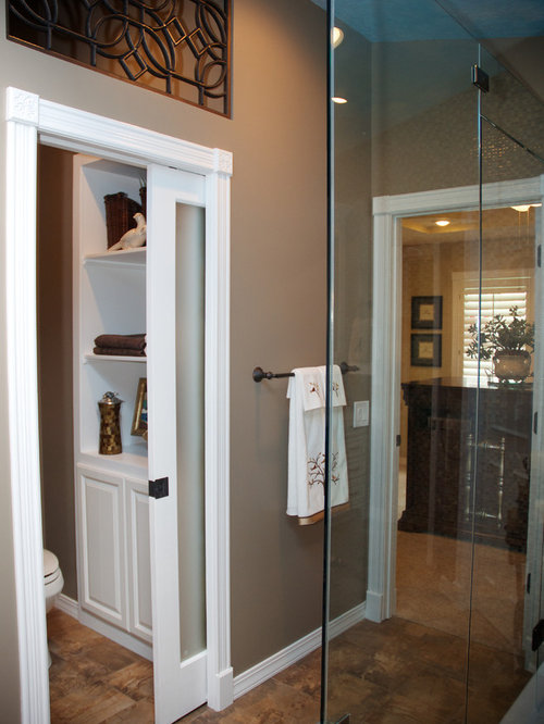 master bathrooms with closets  houzz