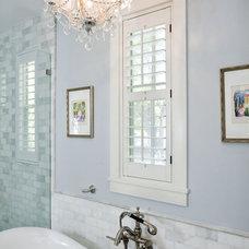 Traditional Bathroom by Casa Nova Design Group