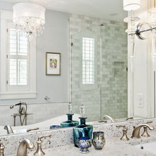 Traditional Bathroom by Casa Nova Design Group