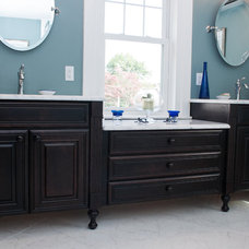 Traditional Bathroom by Kitchens and Baths by Grande Decor