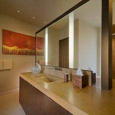 Contemporary Bathroom by Angelica Henry Design
