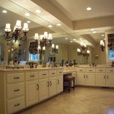 Traditional Bathroom by Aplus Interior Design