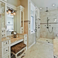 Traditional Bathroom by ARTifact Interior Design