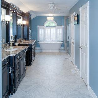 Master Bathroom Bathroom Remodel with a Unique Shape