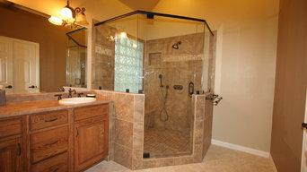 Master Bathroom Bathtub to Shower Conversion