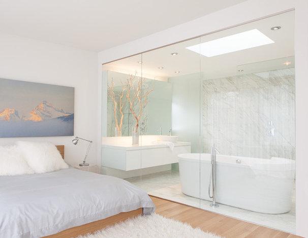 Contemporary Bathroom by Beach Interiors
