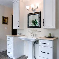 Traditional Bathroom by Benson Homes LLC