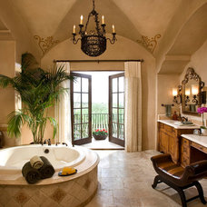 Traditional Bathroom by Beringer Fine Homes