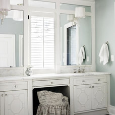 Traditional Bathroom by Brian Watford ID