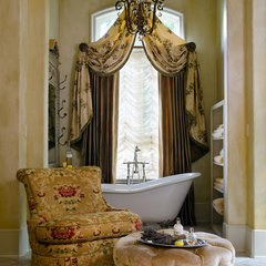 traditional bathroom by Cabell Design Studio