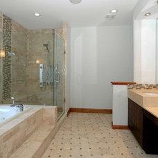 Mediterranean Bathroom by Carmel Developments Inc