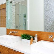 Bathroom by Carriage Lane Design-Build Inc.