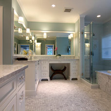 Traditional Bathroom by CB Cooper Construction