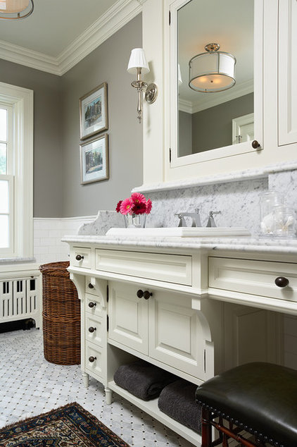 Traditional Bathroom by Charlie & Co. Design, Ltd
