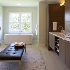Contemporary Bathroom by Charlie & Co. Design, Ltd