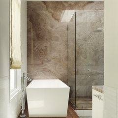 modern bathroom by Chloe Warner