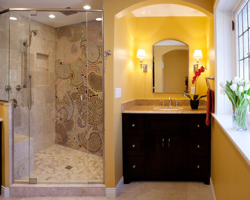 Tile Standing Shower Houzz