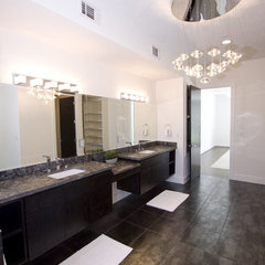 contemporary bathroom by Contour Interior Design, LLC