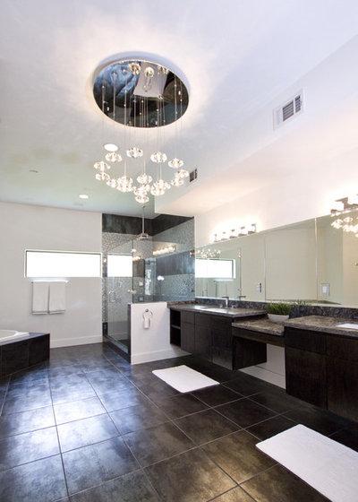 Contemporary Bathroom by Contour Interior Design, Inc.