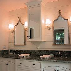 Traditional Bathroom by David Dumas Architect