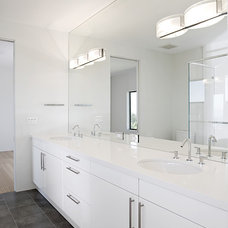 contemporary bathroom by De Mattei Construction