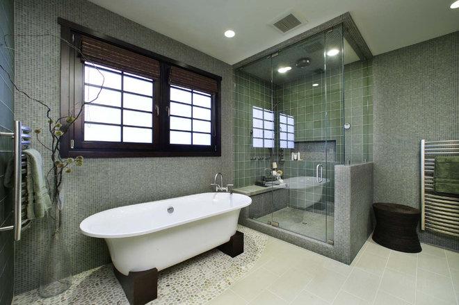 Contemporary Bathroom by Debbie R. Gualco