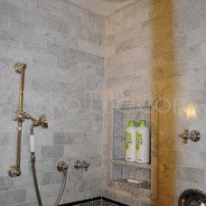 Mediterranean Bathroom by Deko Tile