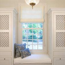 Traditional Bathroom by Dennison and Dampier Interior Design