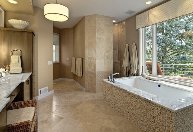 Contemporary Bathroom by Design By Lisa