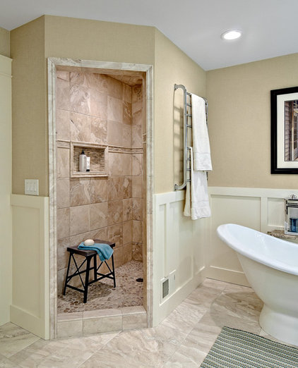 Traditional Bathroom by Design By Lisa