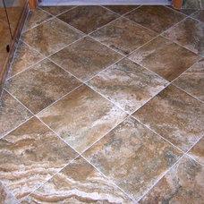 Mediterranean Bathroom by Fusillo Flooring Company