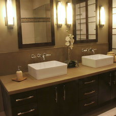 Asian Bathroom by Design Times Inc