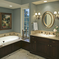 Traditional Bathroom by DESIGNS! - Susan Hoffman Interior Designs