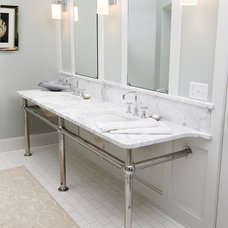 Traditional Bathroom by DiGiacomo Homes & Renovation