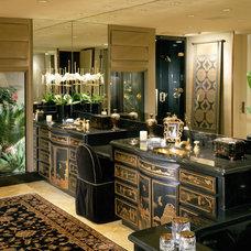 Asian Bathroom by Donna Livingston Design
