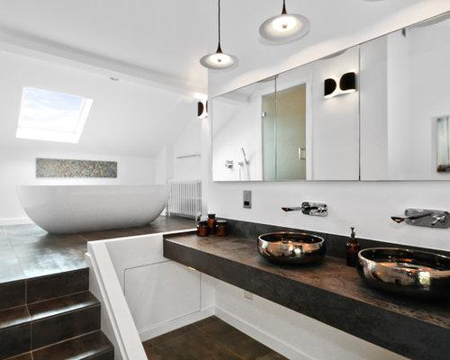 Split Level Bathroom Home Design Ideas Pictures Remodel