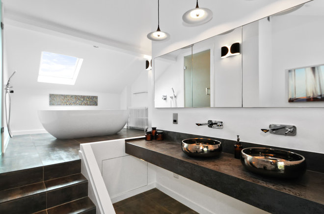 Contemporary Bathroom by DS Interior Design