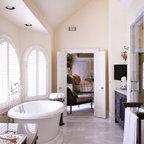 Eclectic Spa Masterbath Eclectic Bathroom Atlanta