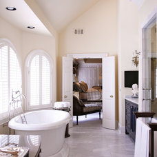 Traditional Bathroom by Elizabeth Anne Star Interiors