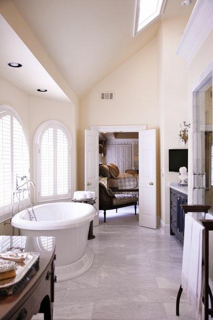 Traditional Bathroom by Elizabeth Anne Star Interiors