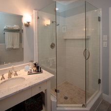 Traditional Bathroom by Elizabeth Hanley Design